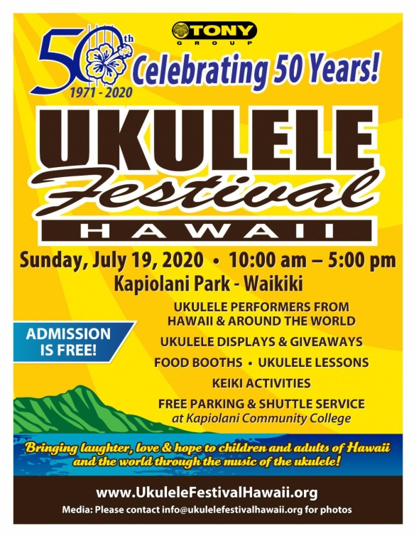Hawaii Festival Poster 2020