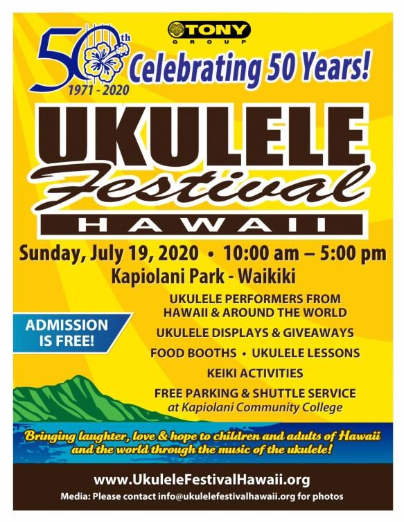 Hawaii Festival Poster 2020